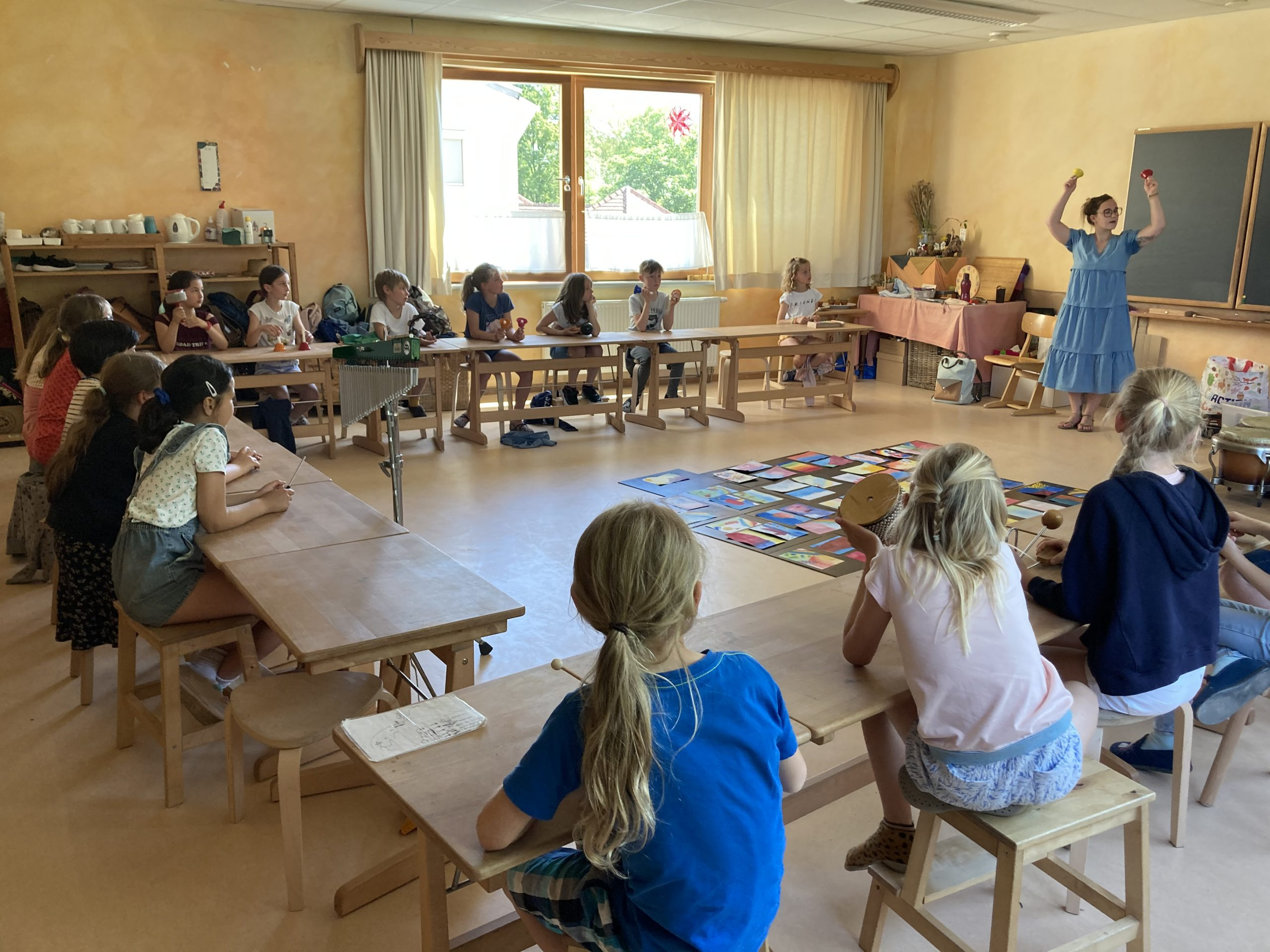 Muziekworkshop – Juf Geertrui